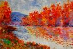 Obras de arte: Europa : España : Madrid : Madrid_ciudad : Otoño en el río