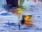 Obras de arte: America : Brasil : Rio_de_Janeiro : Niterói : Barco en el paraíso