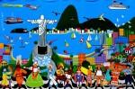 Obras de arte: America : Brasil : Pernambuco : Jaboatao : RIO CIDADE MARAVILHOSA
