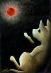 Obras de arte: America : México : Tlaxcala : Tlax : Luna Roja