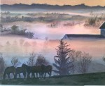 Obras de arte: America : Argentina : Tierra_del_Fuego : Ushuaia : Tafi.6:30 A.M.