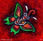 Obras de arte: America : México : Tlaxcala : Tlax : Mariposa Teotihuacana