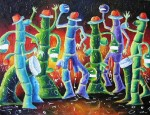 Obras de arte: America : Cuba : Camaguey : Camaguey_ciudad : Rumba Seminal