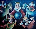 Obras de arte: America : Cuba : Camaguey : Camaguey_ciudad : El Rey de la Esfera