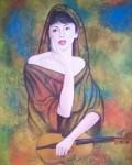 Obras de arte: America : Honduras : Santa_Barbara : santa_barbara_ciudad : La espera