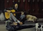 Obras de arte: Europa : España : Andalucía_Huelva : huelva : Musico callejero