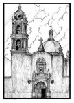 Obras de arte: America : México : Tlaxcala : Tlax : Templo