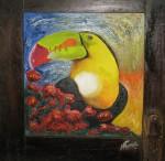 Obras de arte: America : El_Salvador : Santa_Ana : santa_ana_ciudad : La visita