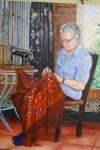 Obras de arte: Europa : España : Andalucía_Granada : Cogollos_Vega : la abuela Encarna