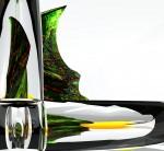 Obras de arte: Europa : España : Valencia : valencia_ciudad : Detalle 1 Composición en Cristal 56