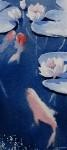 Obras de arte: America : Chile : Region_Metropolitana-Santiago : La_Reina : Lirios y peces