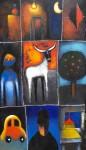 Obras de arte: America : M�xico : Mexico_Distrito-Federal : Xochimilco : Recuerdos