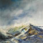 Obras de arte:  :  :  :  : El Calbuco bajo la lluvia