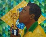 Obras de arte: America : Brasil : Sao_Paulo : Sao_Paulo_ciudad : Pelé
