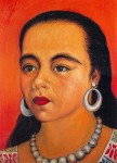 Obras de arte: America : México : Tlaxcala : Tlax : Retrato de Lilia Ortega