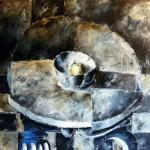 Obras de arte: Europa : España : Castilla_y_León_Salamanca : BéJAR : Mesa azul