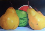 Obras de arte: America : Venezuela : Miranda : Caracas_ciudad : Peras y Patiilas II