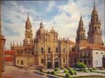Obras de arte:  :  :  :  : Plaza de la Azabachería de la Catedral de Santiago de Compostela