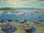 Obras de arte:  :  :  :  : Puerto de las Isla de Arousa matutina