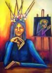 Obras de arte:  :  :  :  : Pensando en el Arte - Autorretrato