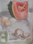 Obras de arte:  :  :  :  : Calabaza y huevos