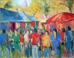 Obras de arte:  :  :  :  : El mercado de Sineu (Mallorca)