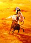 Obras de arte:  : España : Andalucía_Sevilla : sevilla : rejoneador