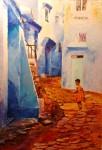 Obras de arte:  : España : Andalucía_Sevilla : sevilla : pueblo de maruecos