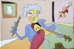 Obras de arte:  :  :  :  : The violinist
