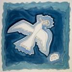 Obras de arte:  :  :  :  : Seagull in the sky 1