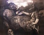 Obras de arte:  :  :  :  : comiendo rabia
