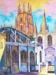 Obras de arte: Europa : España : Castilla_y_León_Burgos : burgos : Catedral de Burgos (Cimborrio).