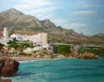 Obras de arte: Europa : España : Andalucía_Granada : almunecar : balcon de europa0001