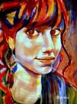 "Obras de arte:  :  :  :  : ""Portrait of Ivana"""
