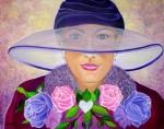 Obras de arte:  :  :  :  : LA DAMA DEL SOMBRERO