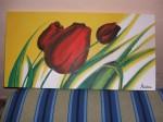 Obras de arte:  :  :  :  : Tulipanes rojos
