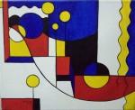 Obras de arte:  :  :  :  : Ciudad azul