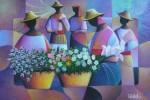 Obras de arte:  :  :  :  : VENDEDORAS DE FLORES