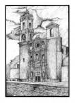 Obras de arte: America : México : Tlaxcala : Tlax : Iglesia de San Luis Obispo