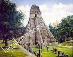 Obras de arte:  :  :  :  : Piramede Gran Jaguar, Tikal Guatemala