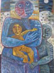 Obras de arte: America : Perú : Lima : miraflores : padre