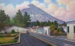 Obras de arte:  :  :  :  : CALLE A YOCOTENANGO, GUATEMALA