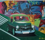 Obras de arte:  :  :  :  : Homenaje al grafitti