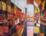 Obras de arte: Europa : Portugal : Setubal : Baixa_da_Banheira : Reflexo