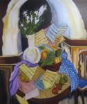 Obras de arte: Europa : España : Galicia_Pontevedra : Bayona : Bodegón de la abuela