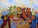 Obras de arte: Europa : España : Galicia_Pontevedra : Bayona : Bodegón II