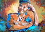 Obras de arte: America : Colombia : Santander_colombia : Bucaramanga : Autoretrato