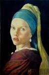 Obras de arte:  :  :  :  : Scarlett with tjhe pearl earring