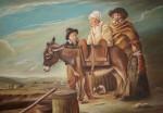 Obras de arte:  :  :  :  : el burro y la familia