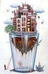 Obras de arte:  :  :  :  : habana en vaso de agua